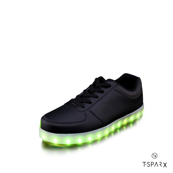 c7789c9f5 £79.99 £39.99. Knight Black Low Top Led Shoes