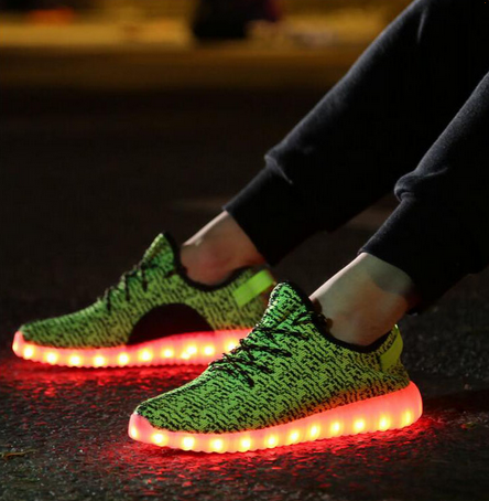 2bf01cdc9 £79.99 £39.99. Green Yeezy Boost Inspied Led Shoes.